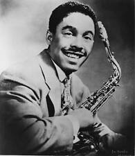 OLD JAZZ MUSIC PHOTO Photo Of Johnny Griffin Saxophone