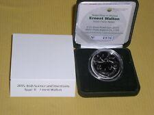 Irland 15 Euro Silber 2015 PP  Ernest Walton