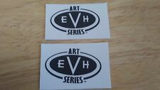 2 EVH Art Series guitar headstock logo decal