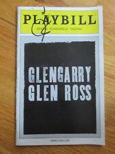 AL PACINO signed GLENGARRY GLEN ROSS 2013 Broadway Playbill PSA / DNA