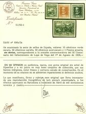 EDIFIL 690/3S** SIN DENTAR LUJO MNH CERTIFICADO GRAUS CATALOGO 1.385  EUROS