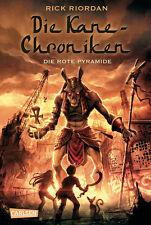 Die Kane Chroniken Band 1 Die rote Pyramide Ab 12 Jahre Gebunden + BONUS