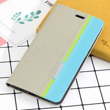 (Grey)Luxury PU Leather Wallet Flip Cover Case For Samsung S6 S7 J7 J3 A3 A5 A7