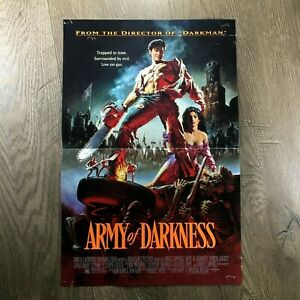 Army of Darkness - Orig Movie Poster '93 / Evil Dead, Sam Raimi, Bruce Campbell