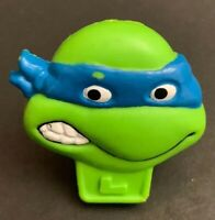 Vintage 1990 Mirage Studios TMNT Ninja Turtles Leonardo Cereal Toy Ring RARE