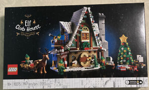 LEGO Elf Club House 10275 Christmas Building Kit 1,197 Pieces New Sealed