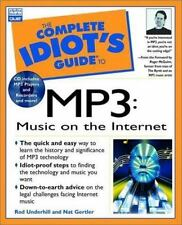 Complete Idiot's Guide to MP3: Music on the Internet by Gertler, Nat, Gertle, N