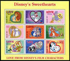 PALAU, Sc #393, MNH, 1996, S/S, DISNEY'S SWEETHEARTS, 1FRID