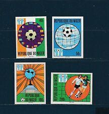Niger  coupe du monde de football    1978   num:  441/44   ND  **