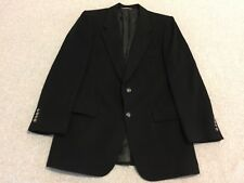 Christian Dior Monsieur Black 100% Cashmere Blazer Sport Coat Jacket Men's 42R