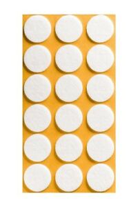 Self Adhesive Felt Sticky Pads Circle Round Tabs Floor Anti Scratch