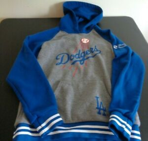 LOS ANGELES DODGERS Baseball SGA Hoodie Size MEDIUM Sweatshirt MLB Free Shipping