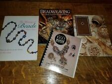 Lot 4 Bead Beading Books Best Little Beadweaving History Project Instruction