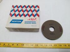 "Norton 3F1 5x1/2x 1 1/4"" CB120-WBB-1/8 CBN Superabrasive Grinding Wheel 7260 RPM"