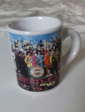 THE BEATLES - Sgt Peppers Lonely Hearts Club Band Expresso Coffee Mug 2014 Apple