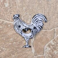Rooster Antique Cast Iron Bottle Opener Beer Opener Vintage Style Wall-Mounted