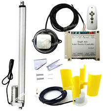 Complete Solar Tracking Sun Tracker Kit &Linear Actuator &Controller &Anemometer