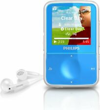 PHILIPS GOGEAR VIBE 4GB MP3 PLAYER - Blue