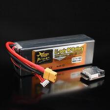 ZOP Power 11.1V 5500mAh 3S 35C Lipo Battery XT60 Plug w/ Battery Alarm For RC