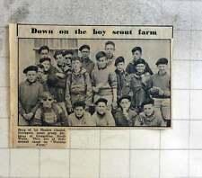 1960 First Heaton Chapel Stockport Scout Group Wernisa Farm Llangollen