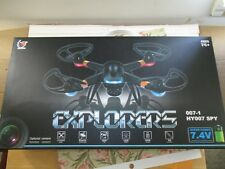 QuadCopter Drone with 2Mp Camera 7.4 Litium Battery 2.4Ghz Frequency