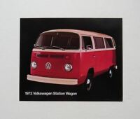 1973 Volkswagen Station Wagon Brochure Specficiations