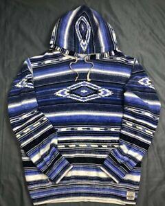 Polo Ralph Lauren Southwestern Aztec Serape Indian Blanket  Hoodie XXL