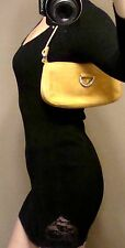 Authentic Hype Foxy Brown Clutch New Evening Nubuck Leather Stones shoulder bag