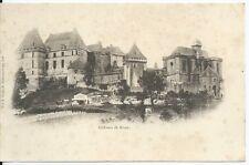 CPA 24 - Château de Biron