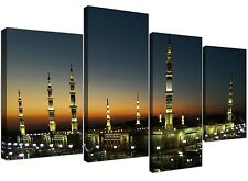 Canvas Pictures of Al Masjid an Nabawi Prophets Mosque Medina - 4 Part