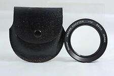 VIVITAR 55MM MACRO CAMERA  LENS ADAPTER +10 WITH CASE