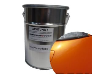 1 Liter Spritzfertigen Basislack New Goldorange 2 Metallic Autolack Tuning Trend