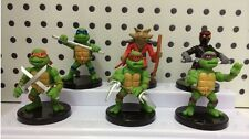 TMNT Action Figures - Cake Toppers, Toys- set of 6