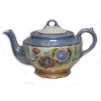 TOKOY TT Tea Pot Fine Bone China Made in Japan Handpainted