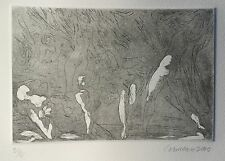 Harry Carmean baroque composition print etching of figures