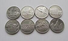 Transnistria 2014 - Cities of Transnistria UNC - Full set of 8 coins