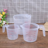 High Quality Plastic Measuring Jug Large Capacity Scale Cup 250/500/100 wa