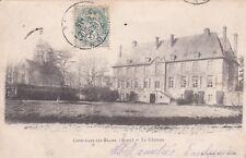 CPA 02 COURCELLES lez BRAINE (Aisne) Le Chateau carte précurseur rare