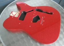 Fender Squier String Through Tele Body / Telecaster Korpus - Erle - Red Sparkle