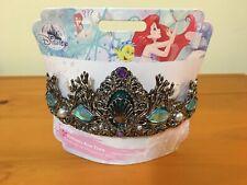 New Disney Store Ariel Tiara Metal Headband Gems Play Crown Costume