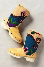 NWT $498 Sz 37 Anthropologie Vintage Carpet Booties Size 7 Boots Spain Western