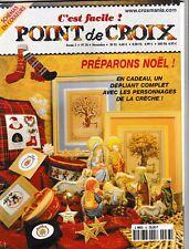 C'est facile le point de croix N°38 Novembre 2001 Préparons Noël