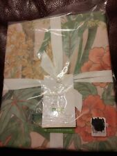 Pottery Barn Mariella Floral Reversible Tencel Full Queen duvet only NEW