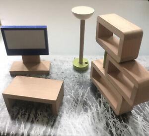 Plan Toys/Pintoys Dolls House Living Room Furniture