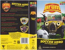 BRUM SOCCER HERO  VHS VIDEO PAL~ A RARE FIND~