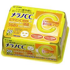 Japan Rohto Melano CC Face Mask 20 sheets Whitening Anti-Spot Freckles