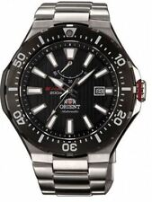 Orient M-Force Delta SEL07002B0 Black Dial Stainless Steel Men's Watch