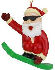 Tree Buddees Snowboarding Santa Claus Christmas Ornament Snowboard Xmas Gift