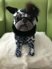 "- Fuzzy NATION - Collectible LMD Edition ""OMG PUG"" Dog HANDBAG. BNWT. Sold Out!"
