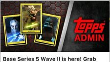 Topps Star Wars Card Trader Yellow Base Series 5 Wave 2 II Day 1 2 3    15 Cards